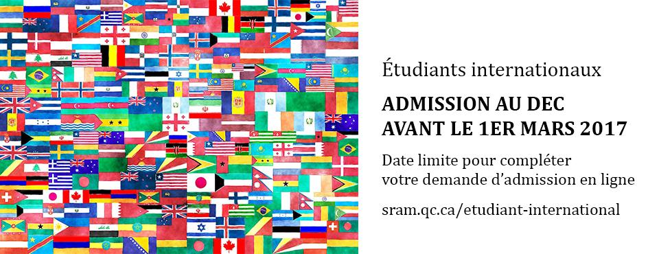 Admission des étudiants étrangers