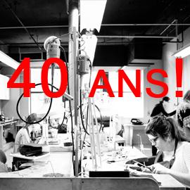 Exposition rétrospective 40 ans de l'École de joaillerie de Montréal 1973-2013