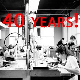 Retrospective exhibition: 40 years of École de joaillerie de Montréal