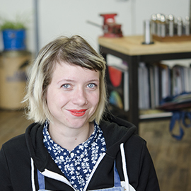 Aurélie Guillaume – Portrait d'une diplômée