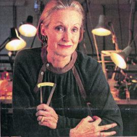 Madeleine Dansereau, joaillière, orfèvre et cofondatrice de l'École de joaillerie de Montréal
