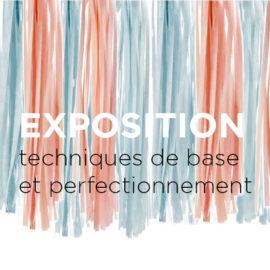 Appel d'œuvres: Exposition du programme Techniques de base et du perfectionnement